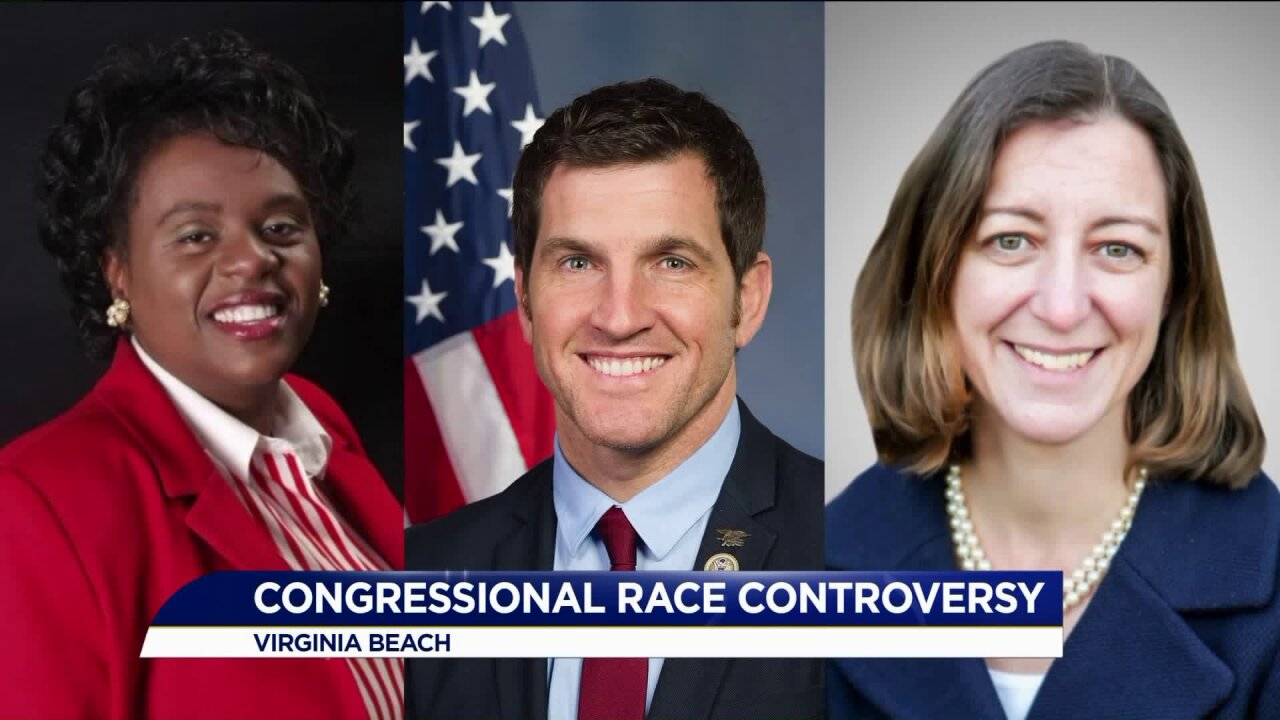 A trial, a controversy: Capping off a wild week in the race for the second congressionaldistrict