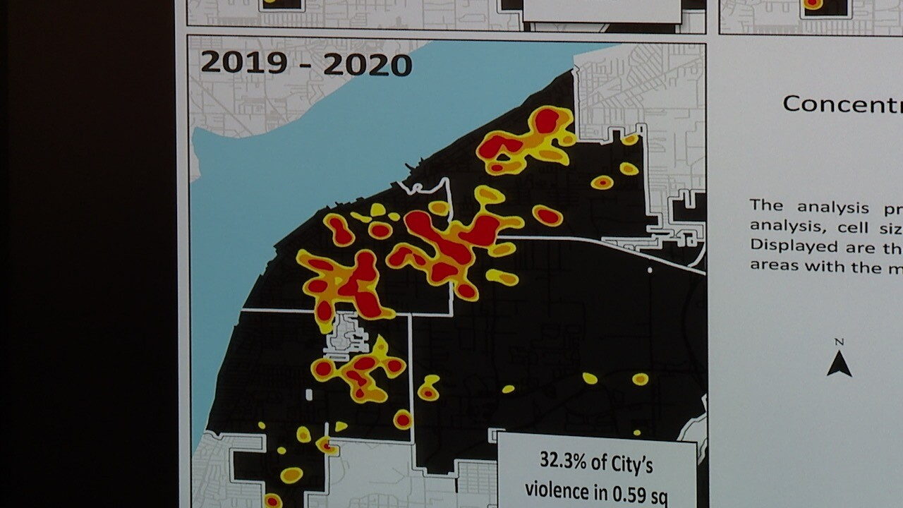 Fort Myers Crime Heat Map