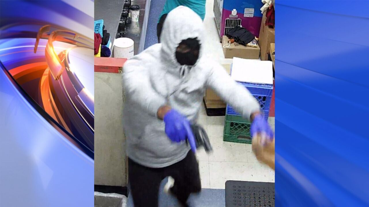 Police trying to identify suspect after gas station robbed in Newport News