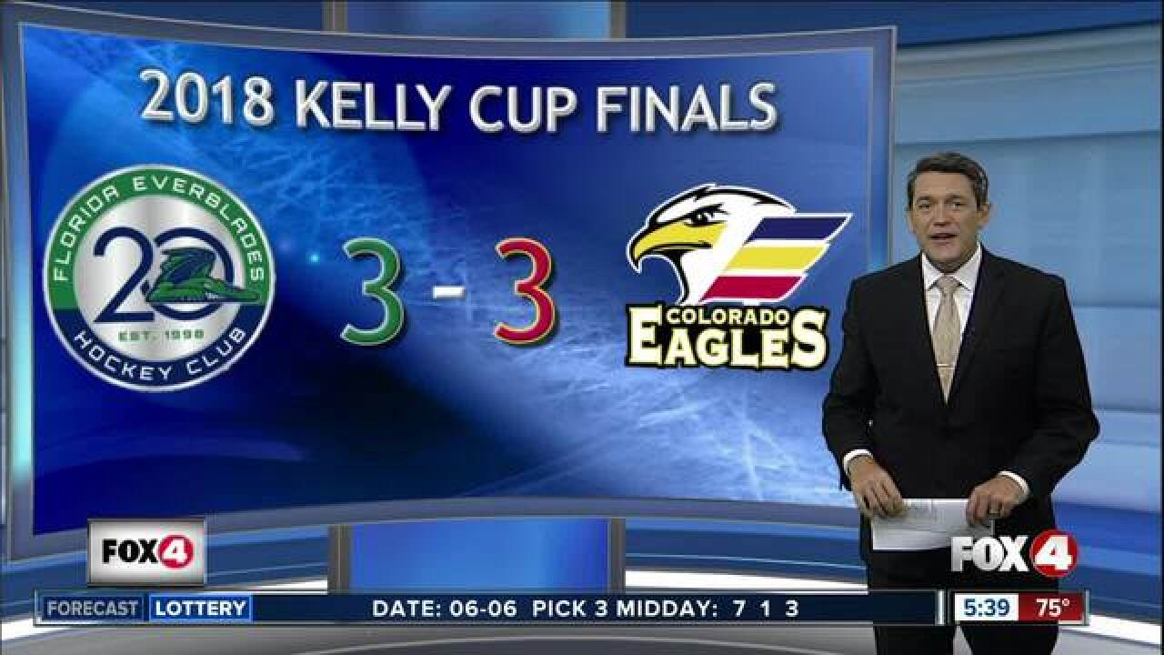 Kelly Cup Finals head back to Southwest Florida for Game 7