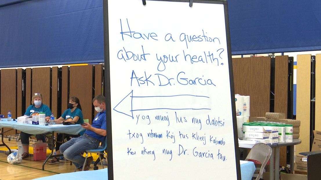 Appleton Area School District, community partners come together for COVID-19 vaccination clinic