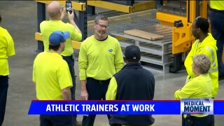 Medical Moment: Athletic Trainers in the community