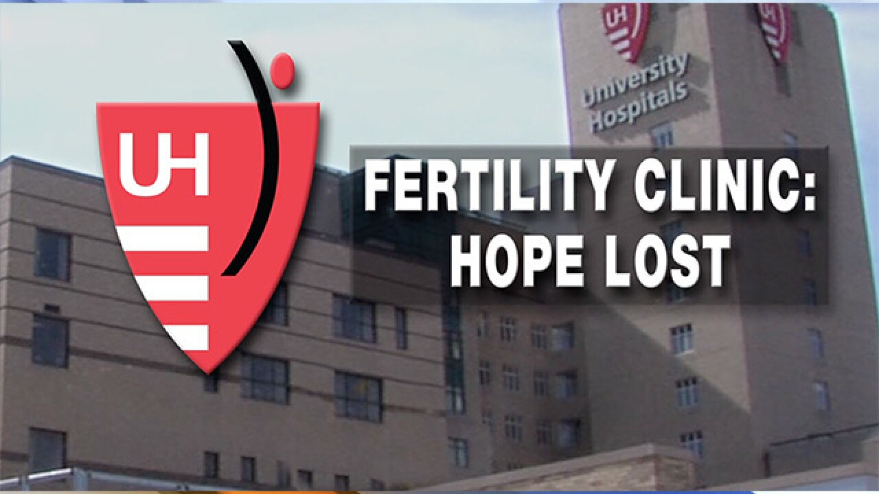 On Mother's Day weekend, UH files motion to dismiss fertility clinic lawsuit