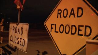 Flood control, flooding, rain