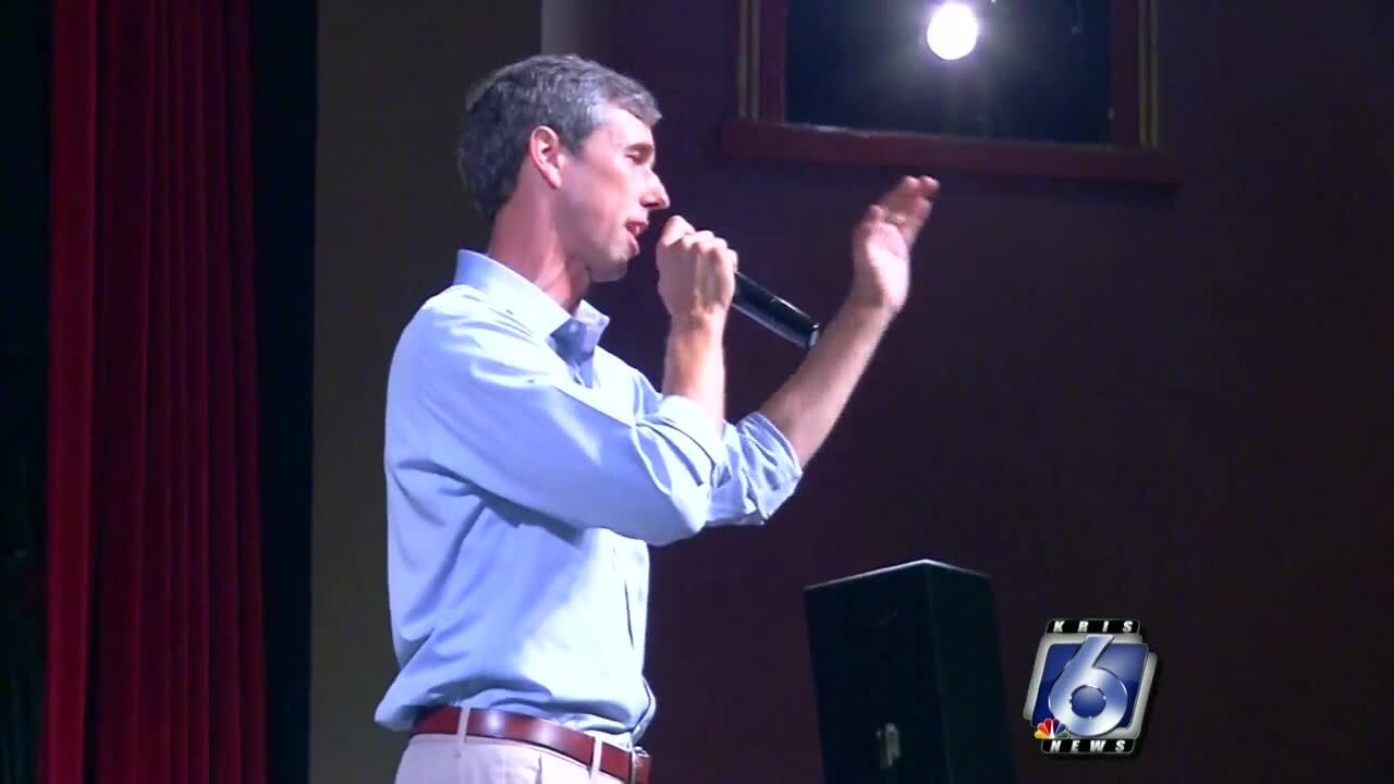 O'Rourke cancels prison tour, heads to Texas after shooting