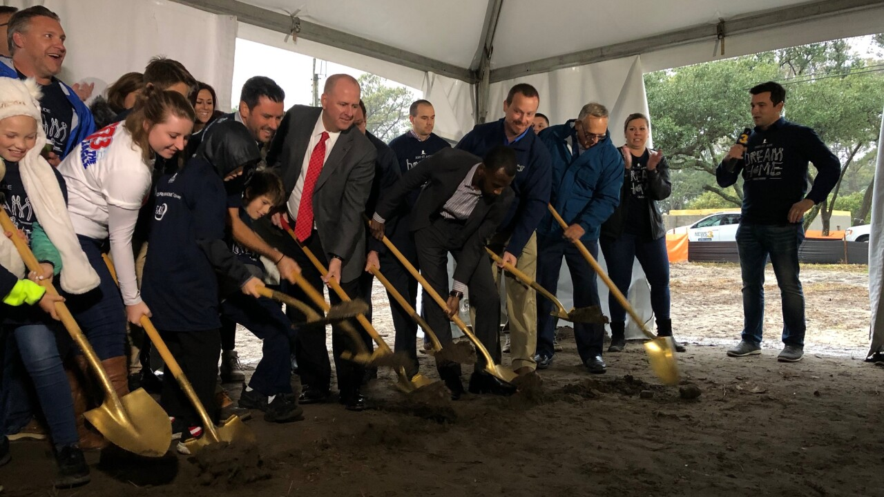 Construction starts on 2020 St. Jude DreamHome