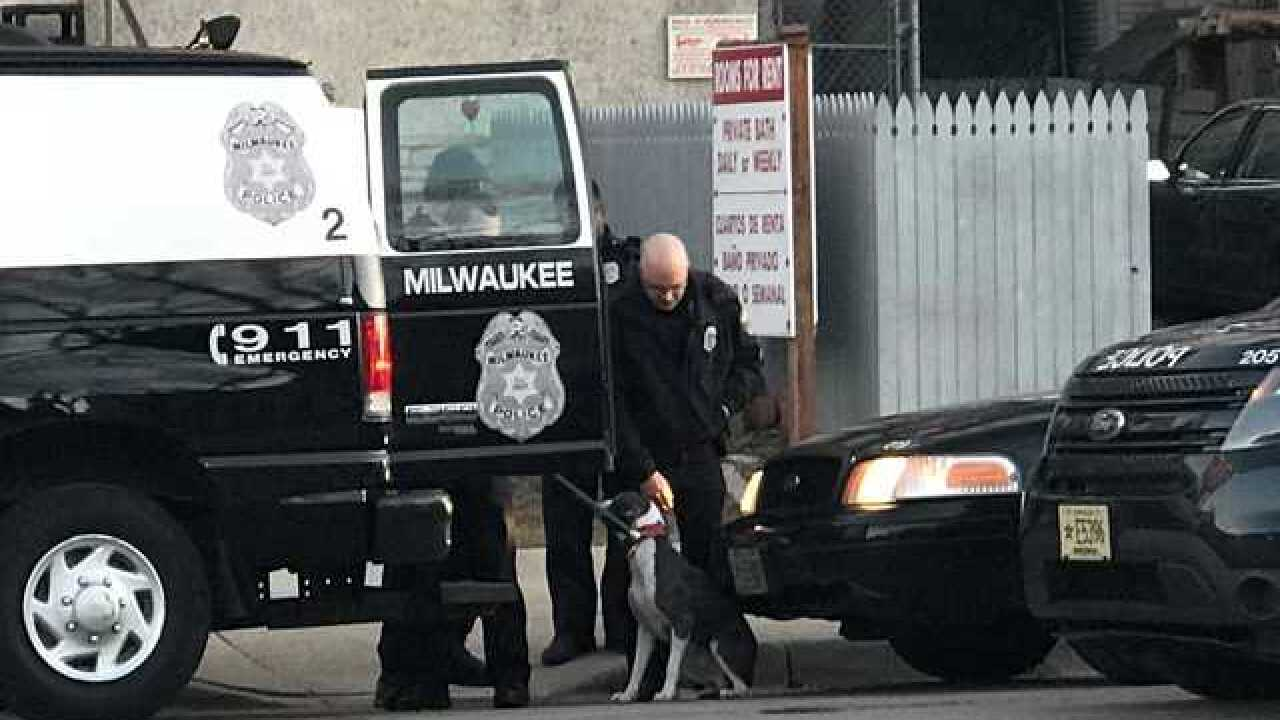 MPD rescue dog abandoned in car for days