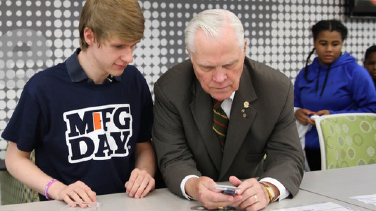 Manufacturing Day Event For Jackson Students