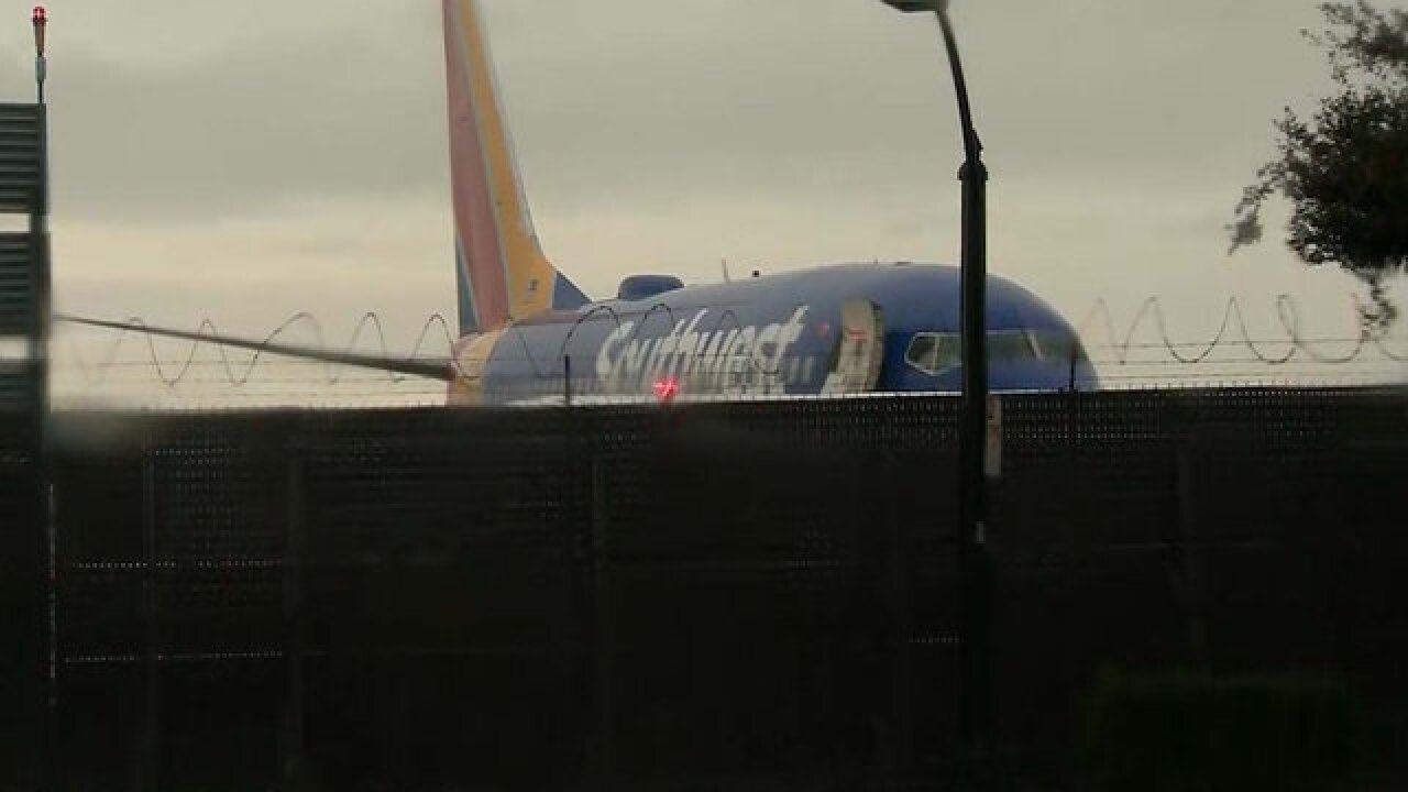 Southwest plane slides off runway at California airport, no injuries reported