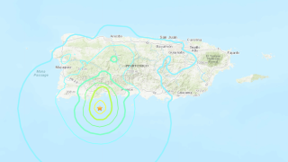 Magnitude-5.8 earthquake strikes off the coast of Puerto Rico