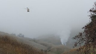 NTSB: Helicopter was 20-30 feet from clearing mountain