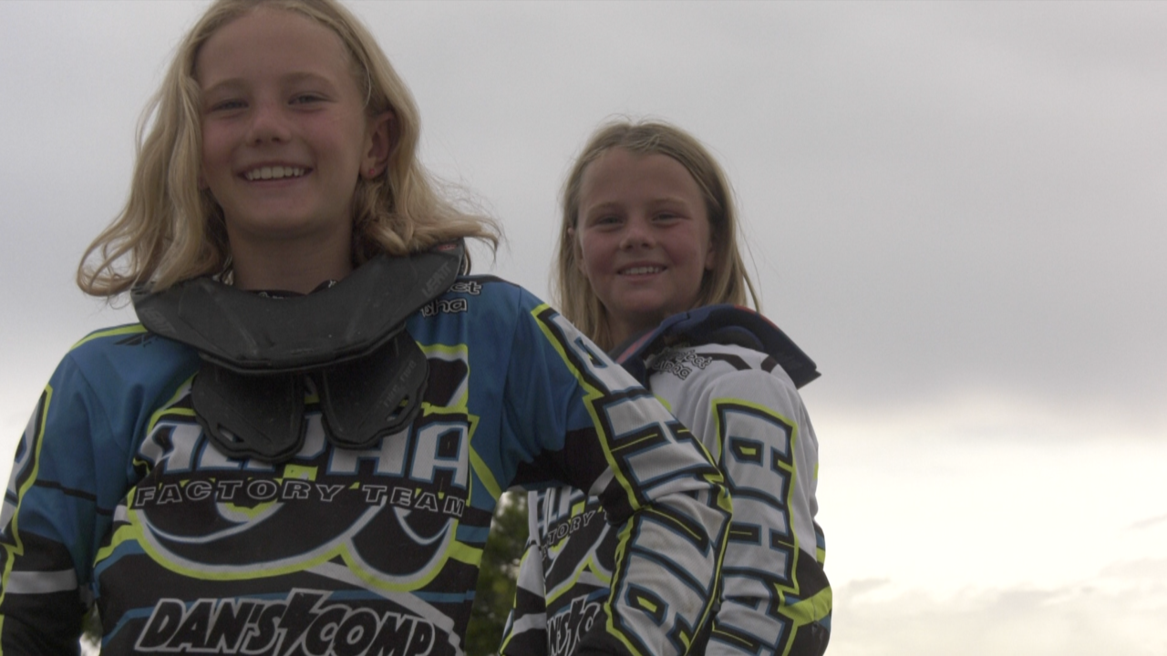 Burian sisters making their mark in the BMX world