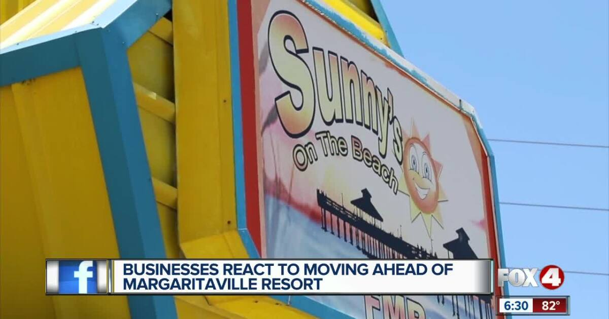 Businesses react to moving ahead of Margaritaville resort