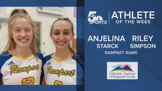 KOAA Athletes of the Week: Ramparts' Riley Simpson & Anjelina Starck