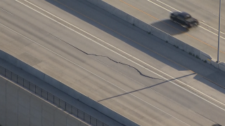 US 36 buckled pavement