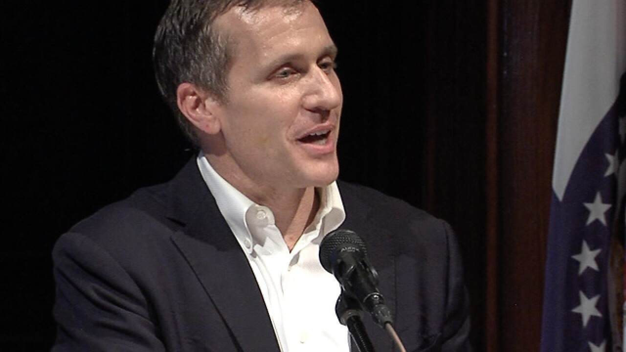 Greitens likely won't campaign for Missouri Senate candidate