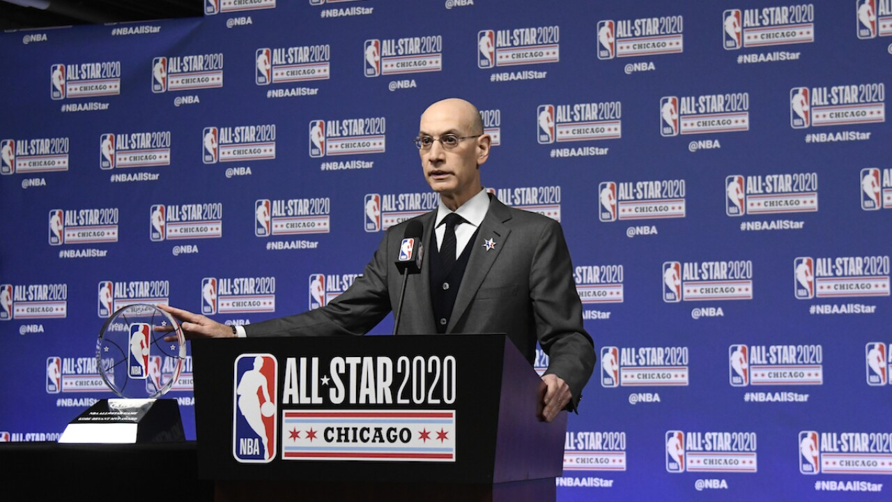 NBA would 'cease' operations if it had coronavirus outbreak, league commissioner said