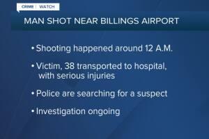 Man shot near Billings Airport