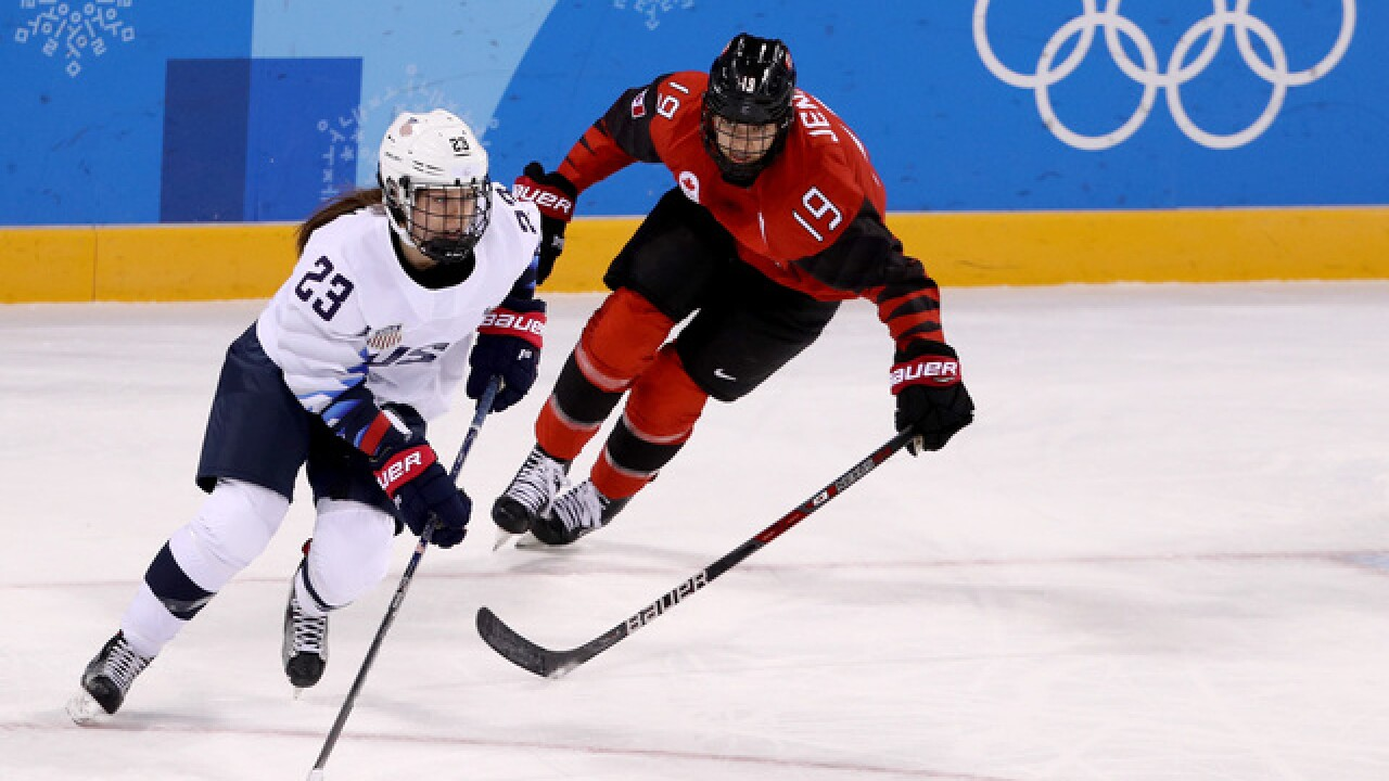 OLYMPICS: Once again, US will meet Canada for women's hockey gold