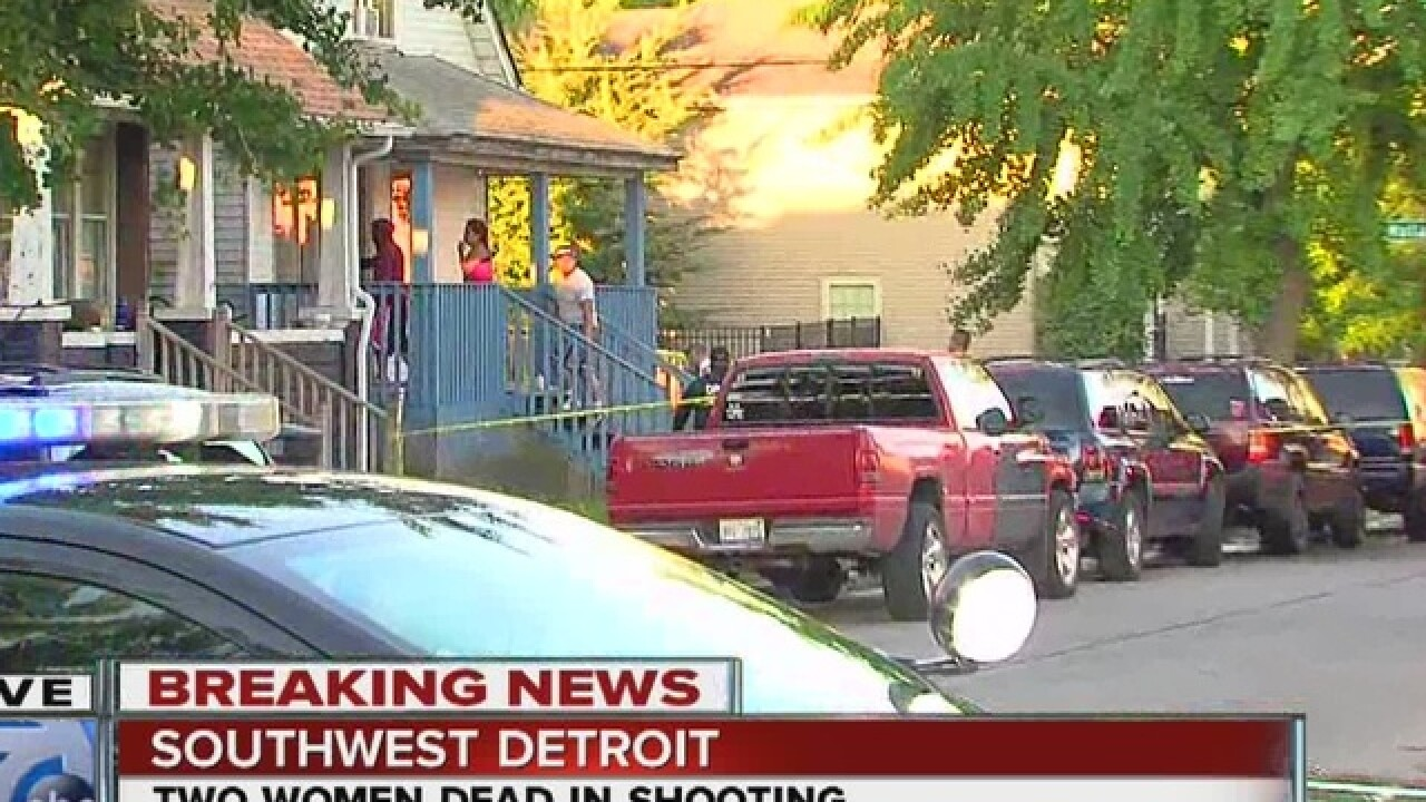 Two women shot and killed in Southwest Detroit