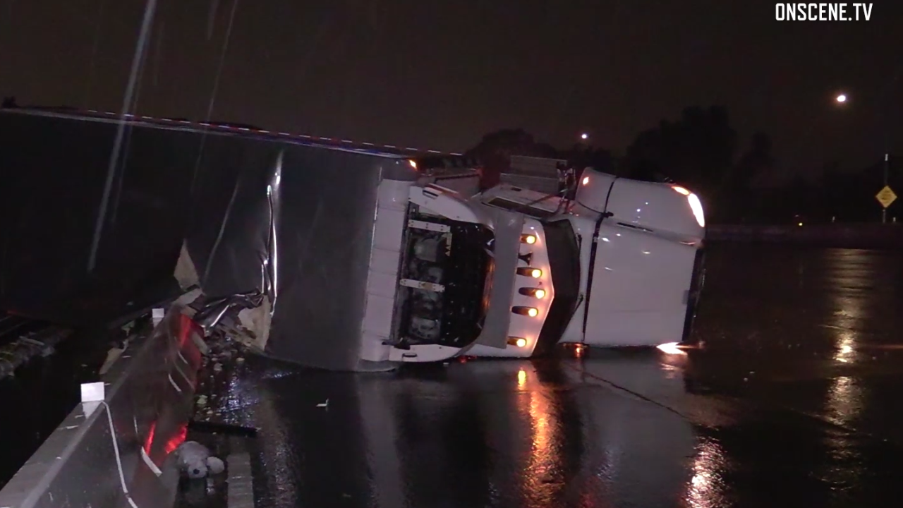 chula vista big rig crash i-805 jan 12