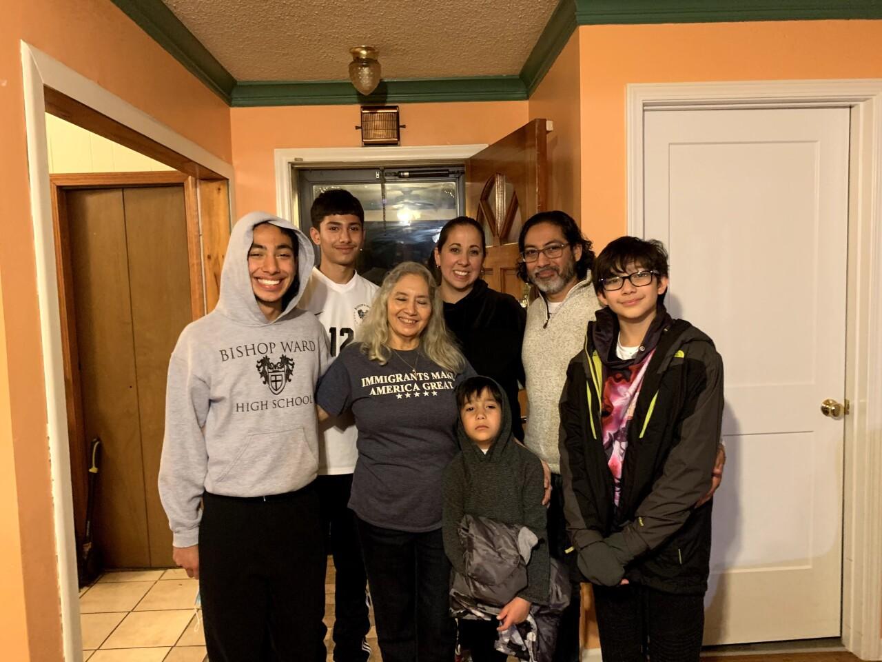 Reynaldo Lopez and family