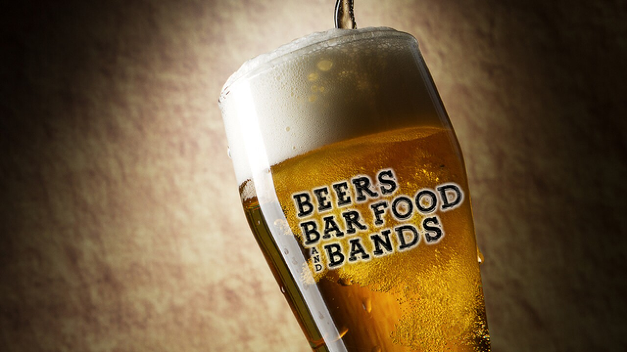 Beers, Bar Food and Bands in Lansing this Sat.