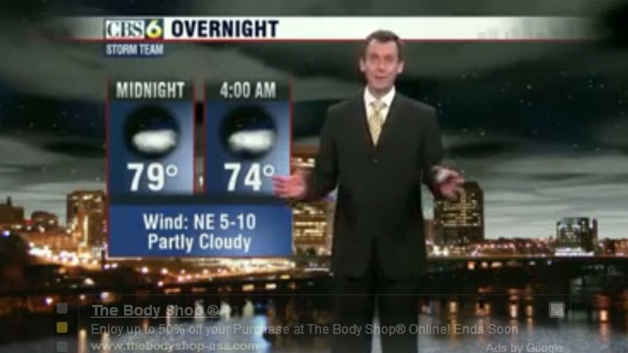 Weather spoof video goes viral