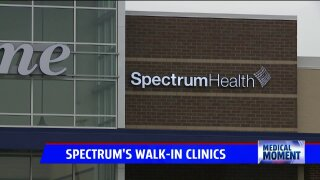 Medical Moment: Spectrum Health Walk-in Clinics inside Meijer