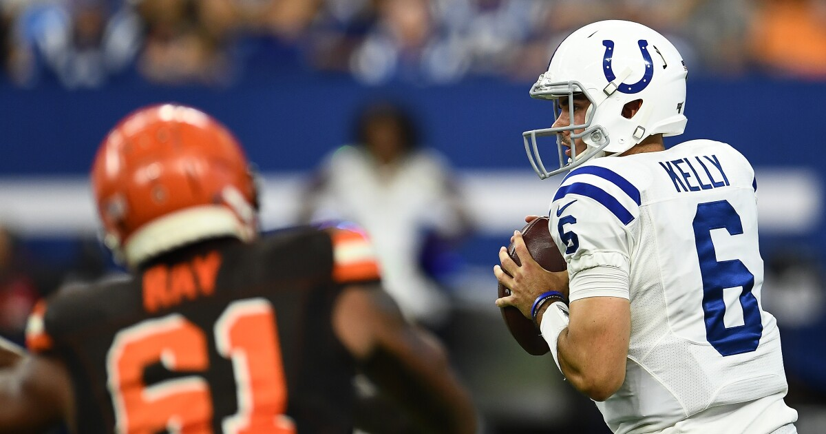 GALLERY: Colts lose to Browns 21-18