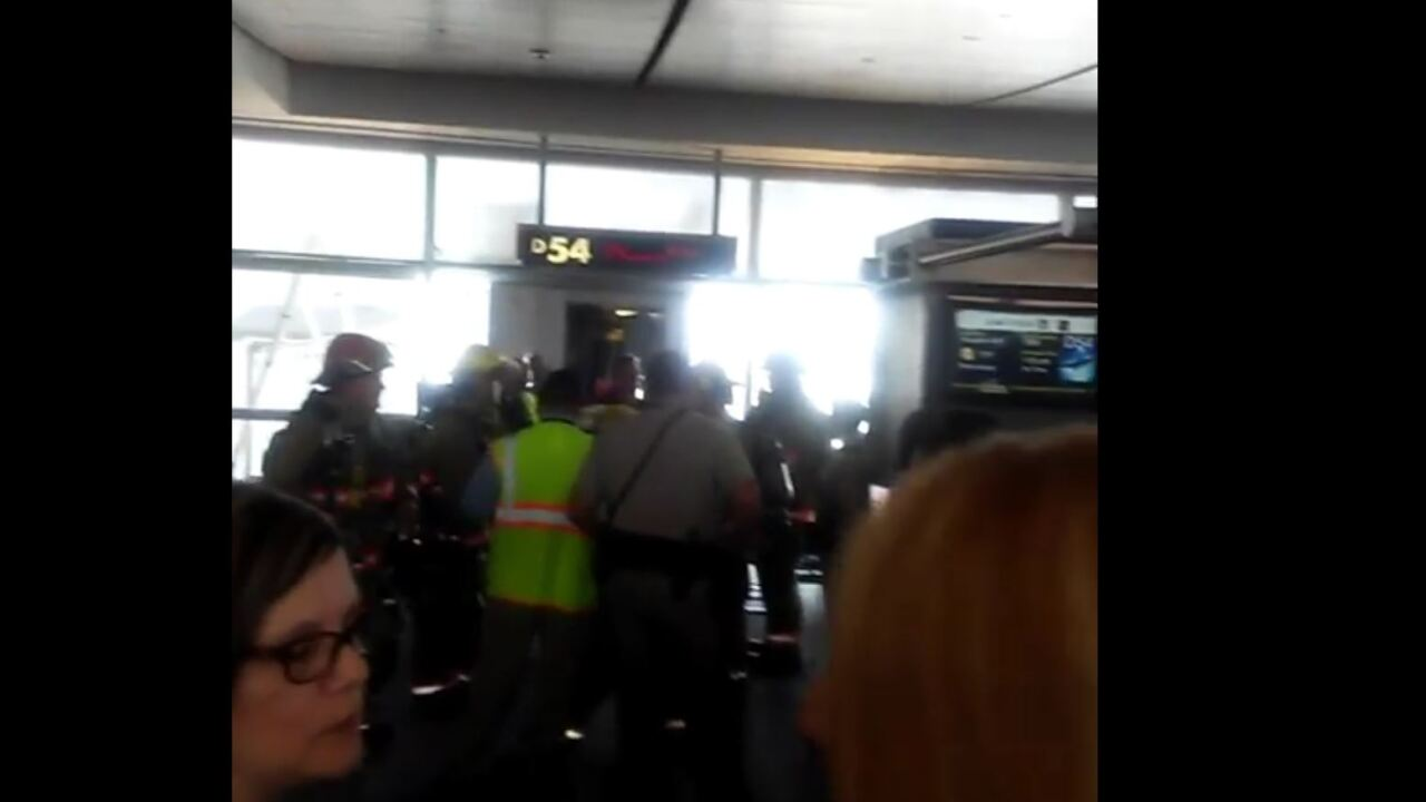 Passengers describe panic after e-cig explosion sends people running for emergency exits