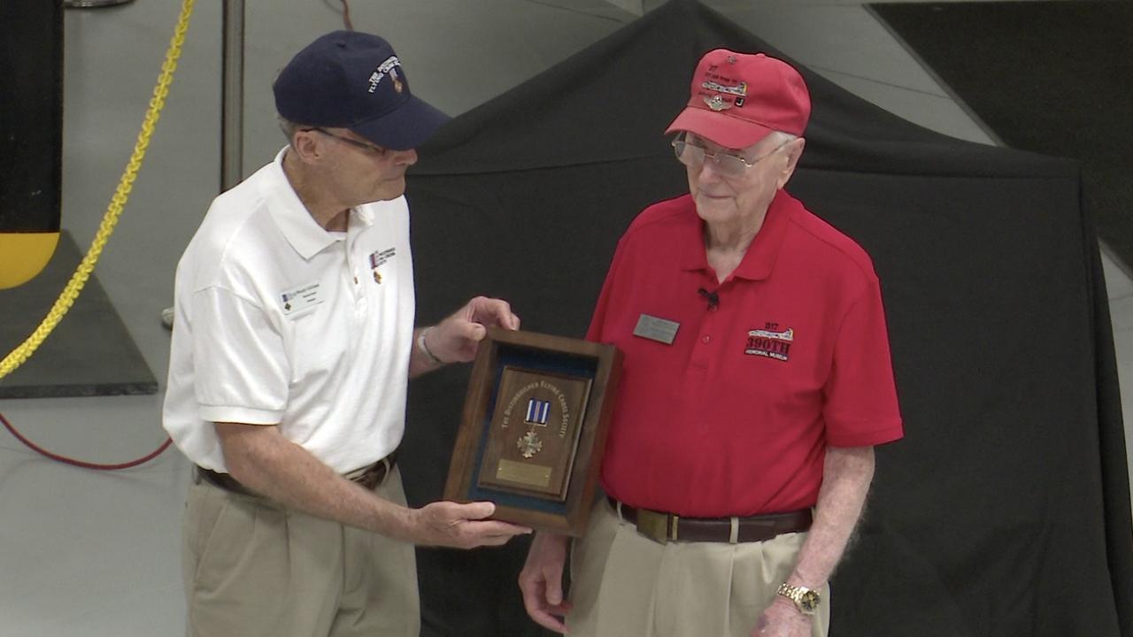 World War II Veteran honored for last combat mission