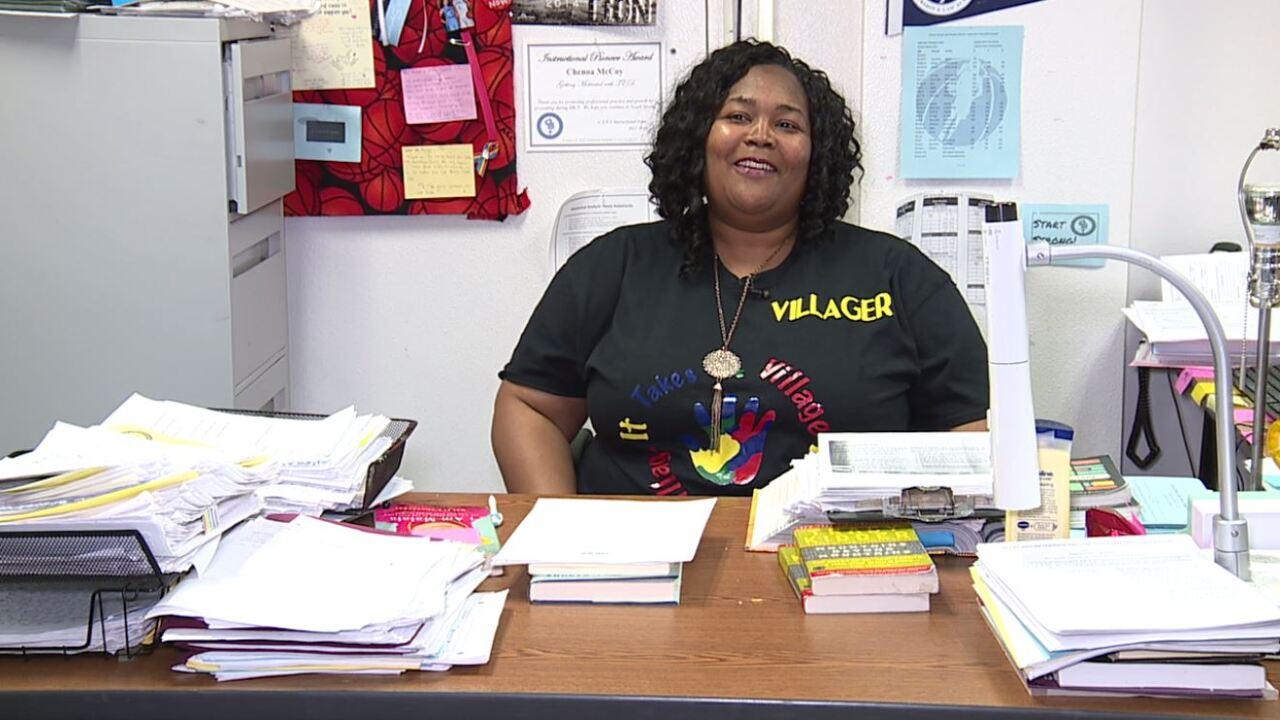 Teacher hopes to build a village around high school campus