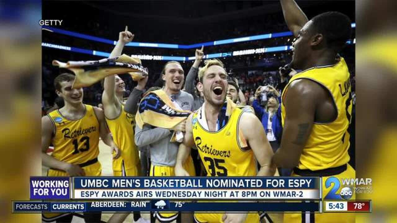 UMBC nominated for 'Best Moment' ESPY