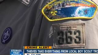 Thieves target El Cajon Boy Scout troop