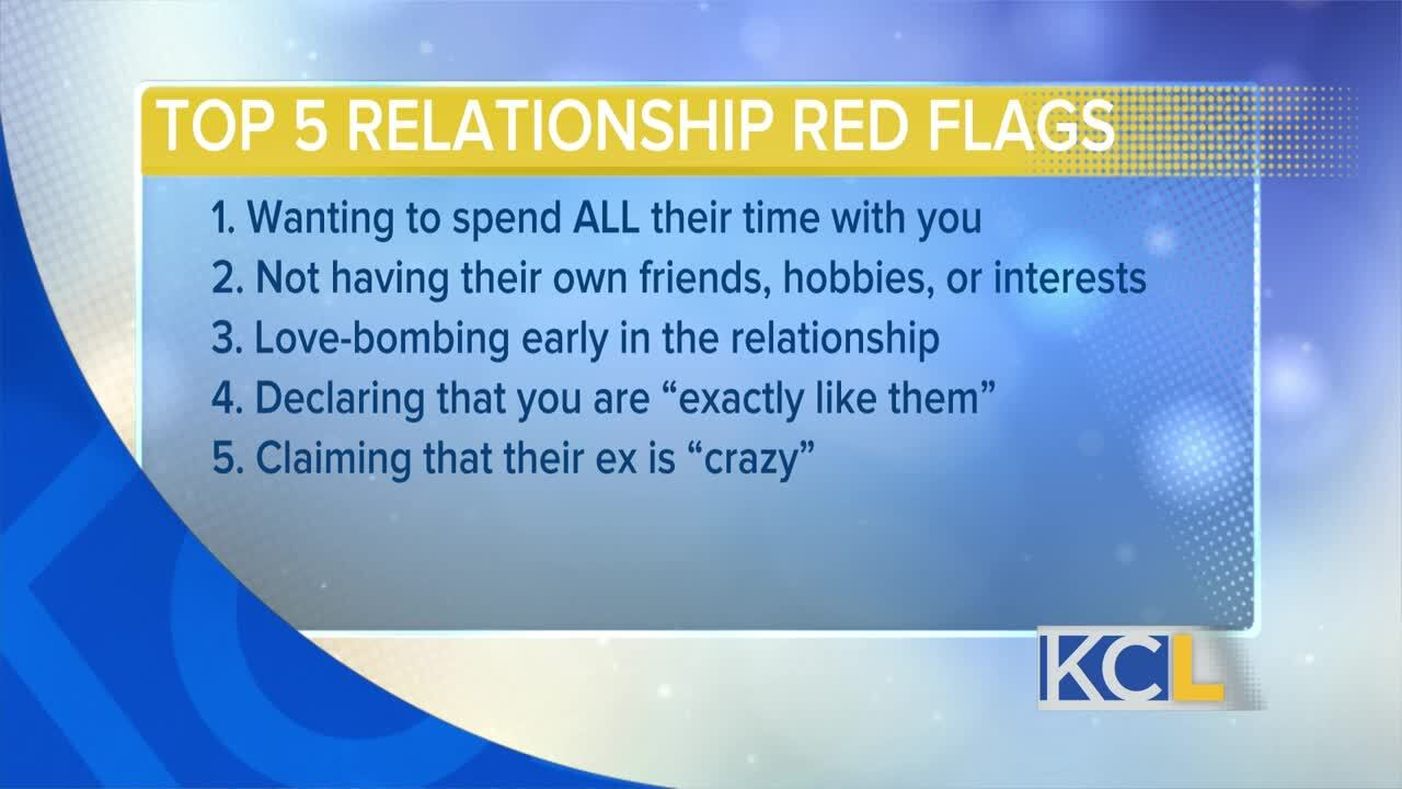 red flags dating