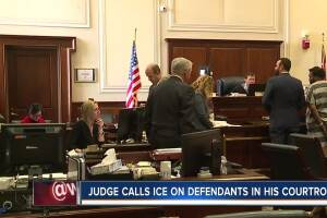 Judge calls ICE on defendants in his courtroom