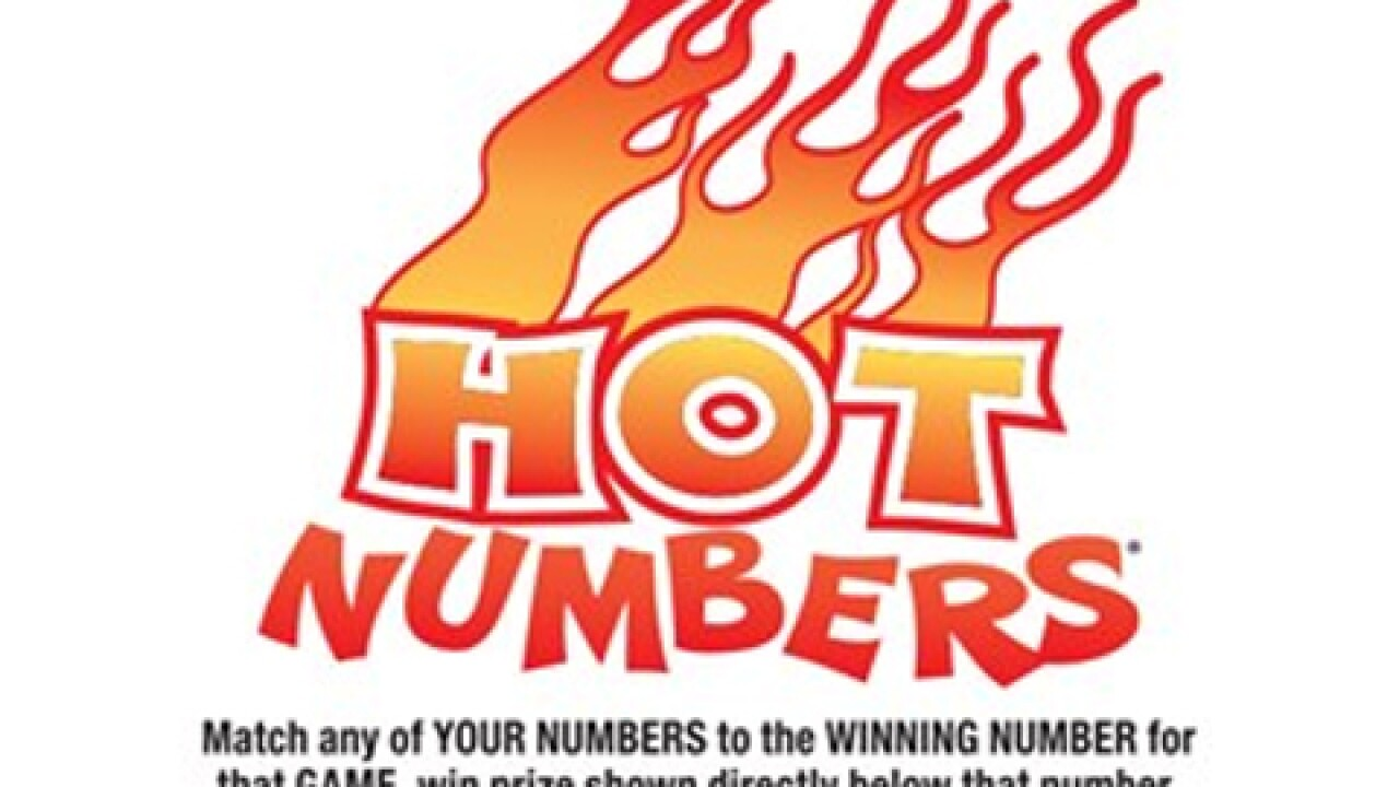 Hot Numbers Game by the AZ Lottery