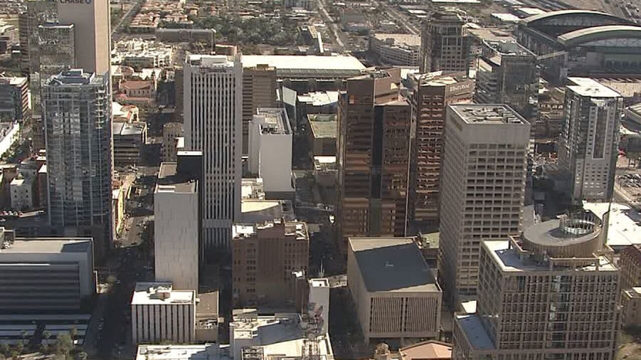 Phoenix city skyline generic