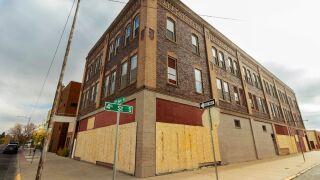 Baatz building in downtown Great Falls