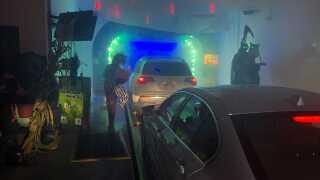 Rainforest Haunted Car Wash