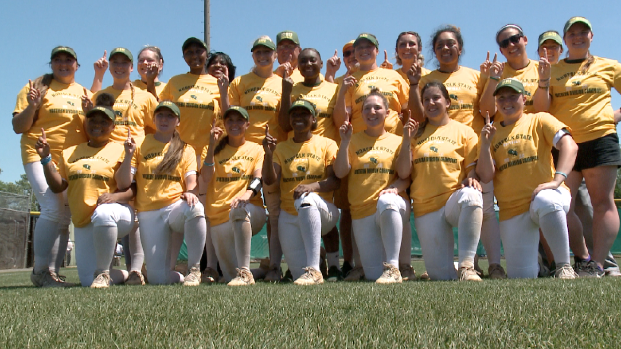 Norfolk State softball is pitching past passed pain