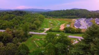 Tierra Fertil, a one-acre stretch in Hendersonville, NC