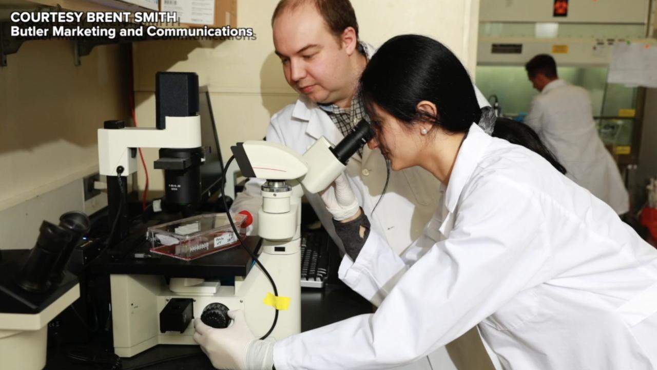 Butler University coronavirus research team