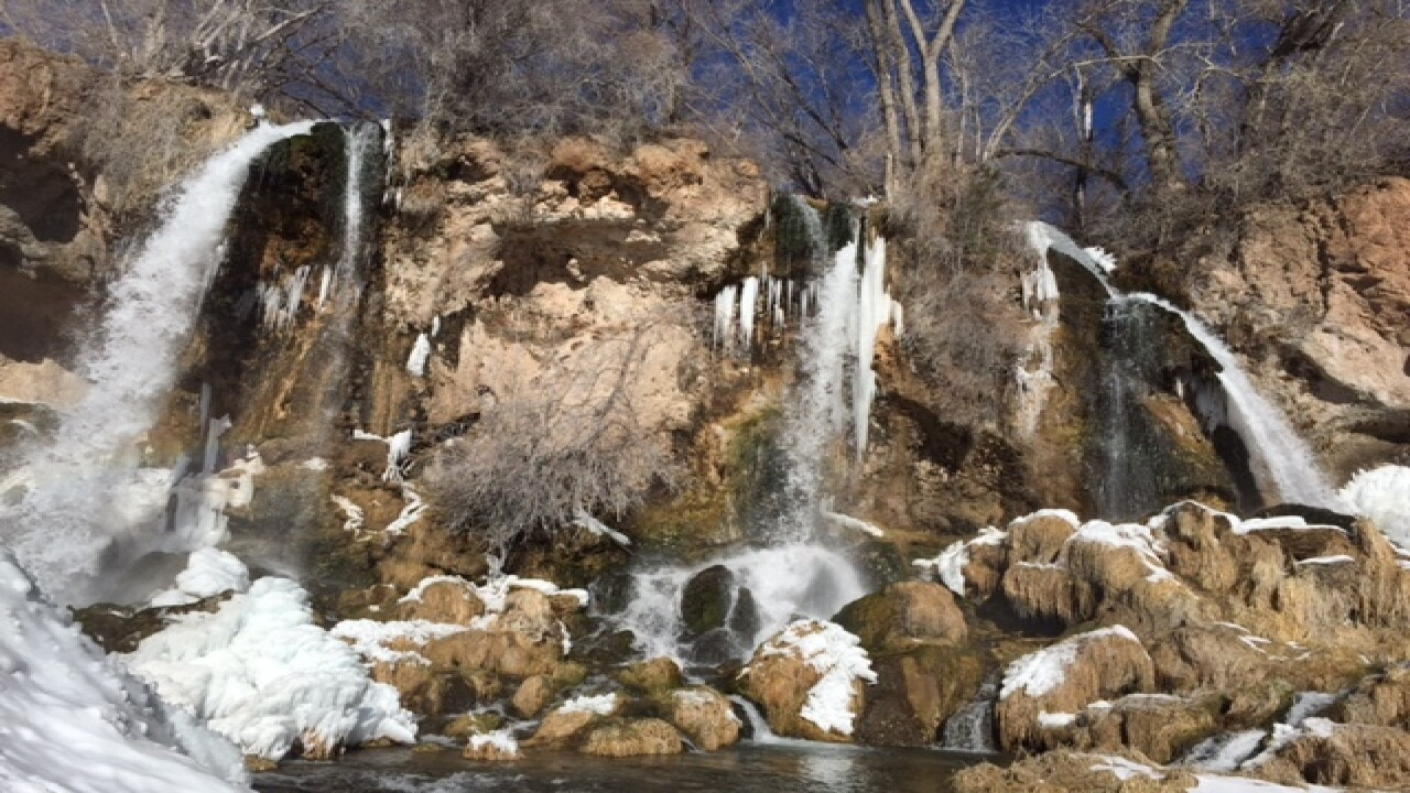 Colorado must see: Ice caves & triple waterfall