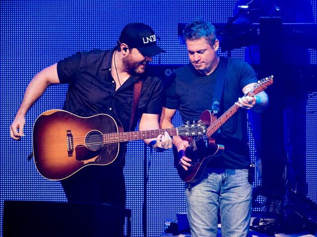 Jason Aldean performs at Riverbend Music Center