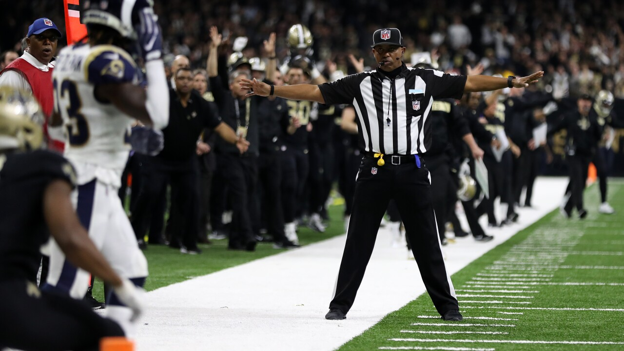NFL expands instant replay review to include offensive and defensive pass interference