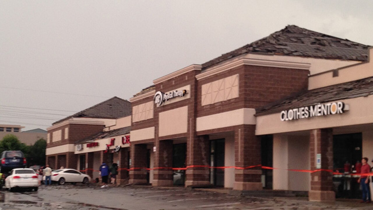 Store re-opens three months after tornado in LS
