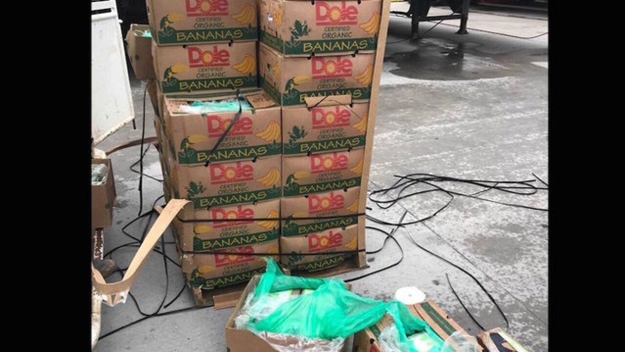 Cocaine valued at $18 million arrives at Texas prison inside shipment of bananas