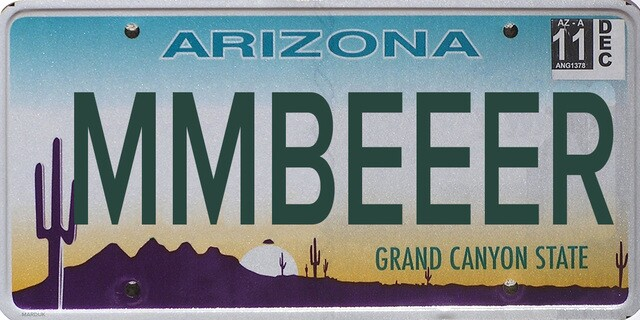 Banned Arizona license plates: 50 additional rejected plates